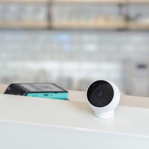Camera smart WiFi Xiaomi 1080P, H.265, baza magnetica, varianta EU, IP65, senzor miscare, infrarosu, intercom, FOV 170°1