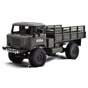 Camion militar cu telecomanda Funtek PR4, tractiune 4x4, 1:16, lumini LED, 25min autonomie, sarcina max 3kg [0]