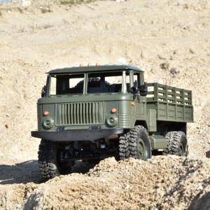 Camion militar cu telecomanda Funtek PR4, tractiune 4x4, 1:16, lumini LED, 25min autonomie, sarcina max 3kg [1]