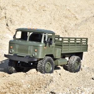 Camion militar cu telecomanda Funtek PR4, tractiune 4x4, 1:16, lumini LED, 25min autonomie, sarcina max 3kg [3]