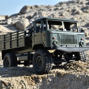 Camion militar cu telecomanda Funtek PR4, tractiune 4x4, 1:16, lumini LED, 25min autonomie, sarcina max 3kg [4]