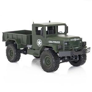 Camion militar RC cu telecomanda Funtek CR4, 1:16, 4WD, green, 700 mAh, lumini LED, sarcina maxima 3kg5