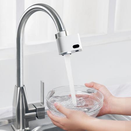 Cap robinet economizor apa Xiaomi Xiaoda, 2 senzori activare incorporati, IPX6, 6 adaptoare incluse [2]