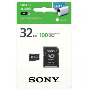 Card memorie Sony Micro-SDHC, 32GB, Clasa 10, 100 MB/s, adaptor SD inclus1