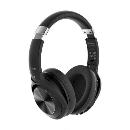 Casti wireless BlitzWolf BW-HP3, Bluetooth 5.0, diafragme grafen 40mm, 300mAh, 3.5mm audio, microfon incorporat [1]