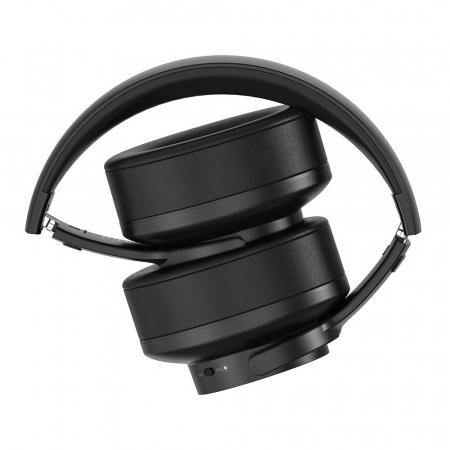 Casti bluetooth 5.0 premium BlitzWolf BW-HP2, diafragma 50mm grafen, 1000mAh, sunet stereo, touch control,  42 ore autonomie [3]