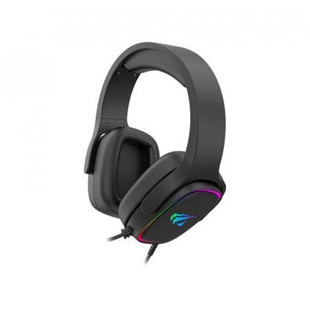 Casti gaming Havit H2029U, lumina RGB, sunet 3D, microfon incorporat, USB 7.1, 50mm diafragma [4]
