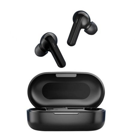 Casti wireless TWS Haylou GT3 Pro, bluetooth 5.0, DSP, design ergonomic, touch control, splashproof IPX4, 600mAh, negre [2]