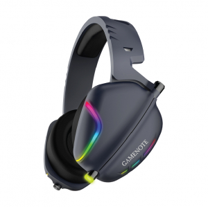 Casti gaming Havit H2019U, USB 7.1, lumina RGB, ergonomic design, sunet 3D stereo, 110 dB0