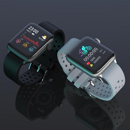 Smartwach Blitzwolf BW-HL1 Pro, full touch 1.54'', IP68, 260mAh, Bluetooth 5.0, monitorizare ritm cardiac, activitati, notificari, negru [3]