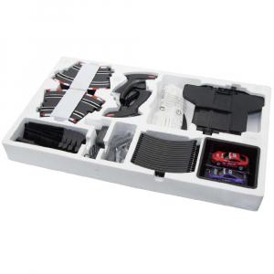 Circuit masinute cu telecomanda Joysway Super 252, lungime 534cm, alimentare cu USB, scala 1:43, faruri LED3