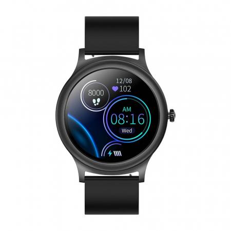 Smartwatch Colmi model V31, monitorizare ritm cardiac, somn, 9 moduri sport, IP67, notificari, bluetooth 5.0, negru [3]