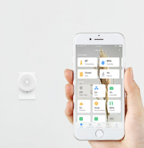 Consola Gateway Aqara, WiFi 2.4GHz, ZigBee, compatibila doar Apple HomeKit si Siri, inel LED, engleza3