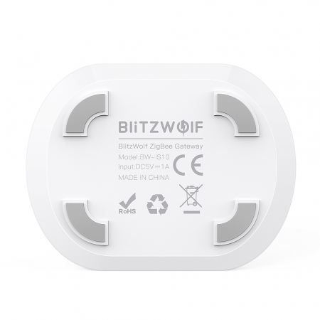 Gateway Blitzwolf BW-IS10, ZigBee 3.0, pentru ecosistemul smart home Tuya & Smart Life3