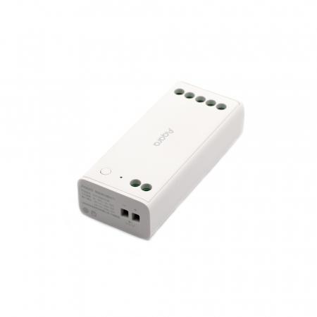 Controller & dimmer smart Aqara T1, pentru benzi LED RGBW, ZigBee 3.0, monitorizare consum, integrare Aqara Home EU & Homekit5