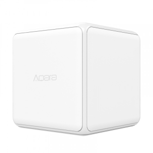 Cub Aqara versiune europeana, pentru control smart, 6 actiuni programabile, accelerometru, giroscop, ZigBee0