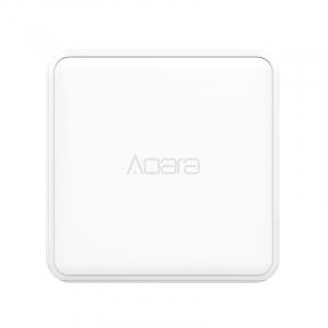 Cub Aqara versiune europeana, pentru control smart, 6 actiuni programabile, accelerometru, giroscop, ZigBee2