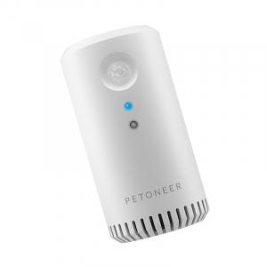 Eliminator mirosuri Petoneer smart, sterilizator, purificare aer, montare in zona lietierei pentru pisici, senzor IR4
