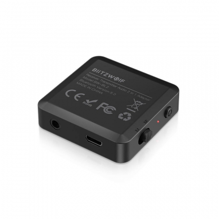 Emitator & receiver BlitzWolf BW-BL2, bluetooth 5.0, 200mAh, USB, aux 3.5 [3]