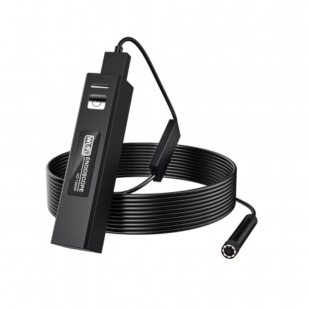 Camera endoscop BlitzWolf BW-YPC110, 10 metri lungime, Wi-Fi, waterproof IPX7, aplicatie dedicata, 1200P HD, 600mAh [0]