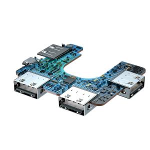 HUB USB splitter Baseus 4 in 1, transfer date 480Mbps, port alimentare directa Micro-USB, pliabil, negru4