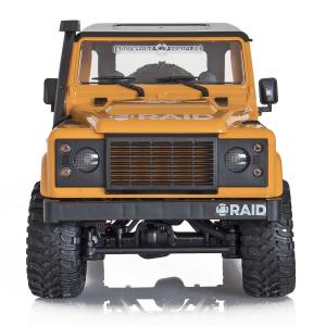 Jeep Off-Road cu telecomanda Funtek Raid2, 4X4, scala 1:12, lumini LED, 700mAh, amortizoare, roti cauciuc0