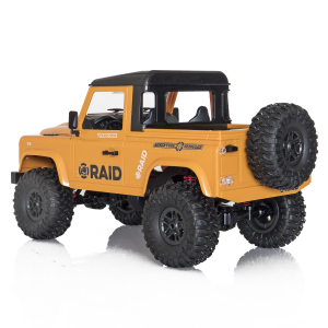 Jeep Off-Road cu telecomanda Funtek Raid2, 4X4, scala 1:12, lumini LED, 700mAh, amortizoare, roti cauciuc3