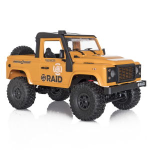 Jeep Off-Road cu telecomanda Funtek Raid2, 4X4, scala 1:12, lumini LED, 700mAh, amortizoare, roti cauciuc5