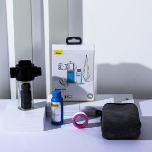Kit aditional spalare auto Baseus, recipient pentru lichid, laveta, sticluta cu sampon, banda de etansare2