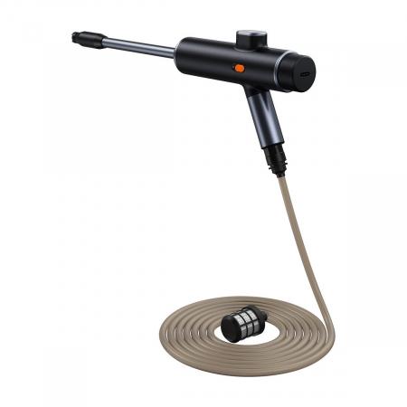 Pistol electric pentru spalare cu presiune Baseus fara fir, 8000mAh, 0.7MPa, 30min autonomie, IPX4, 1.2L/Min0