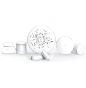 Kit smart home Xiaomi Mijia 6 in 1 pentru automatizare, WiFI 2.4GHz, ZigBee, varianta europeana0