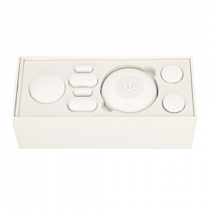 Kit smart home Xiaomi Baby, 9 in 1, detectie planset bebelus, control iluminat, monitorizare video, varianta EU4