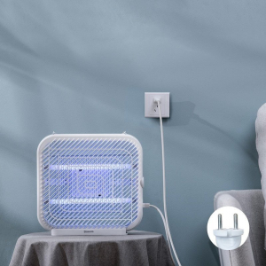 Lampa UV Baseus anti insecte cu suport, 18W, recipient colectare lavabil, arie acoperire 120m², varianta EU2