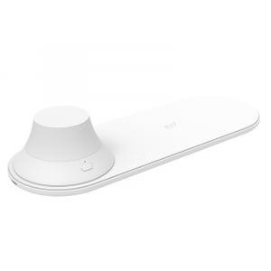 Incarcator wireless Xiaomi Yeelight Quick Charge QI, 15W, cu lampa de noapte magnetica detasabila [0]