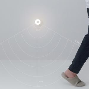 Lampa de noapte Xiaomi gen a 2-a, senzor IR, fotosensibila, 3-25lm, 2800k, ajustabila 360°, baza magnetica3