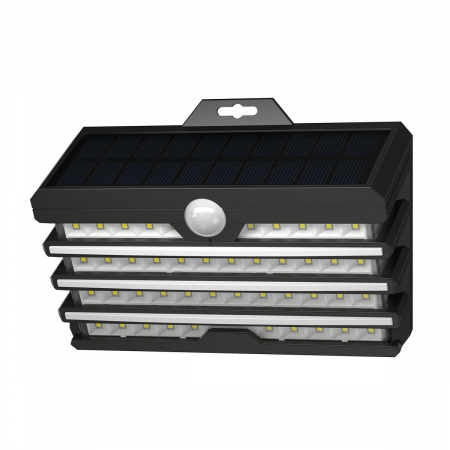 Lampa LED solara Baseus pentru exterior, senzor de miscare, 89 LED-uri, IPX5,1200 mAh1