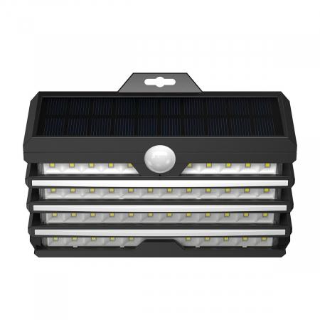 Lampa LED solara Baseus pentru exterior, senzor de miscare, 89 LED-uri, IPX5,1200 mAh0