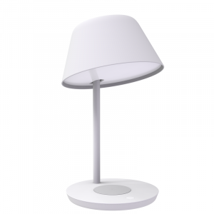 Lampa LED Yeelight Staria Bedside Lamp Pro, incarcare wireless device-uri, compatibila Google, Alexa, Homekit2