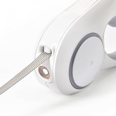 Lesa automata PetKit GoShine pentru caini mici si mijlocii, 4.5m, 800mAh, lumina LED si lanterna incorporata [1]