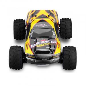 Masina RC Monster Truck cu telecomanda, viteza 35Km/h, 2.4 Ghz, scara 1:18, 750mAh, tractiune integrala3