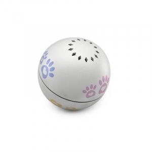 Minge robotica smart Petoneer, jucarie pentru pisici, 5 ore autonomie, incarcare USB, compartiment intern iarba pisicii0