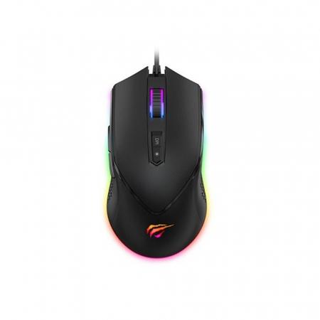 Mouse gaming Havit GAMENOTE MS814, RGB, ajustabil 1000-7000 DPI1