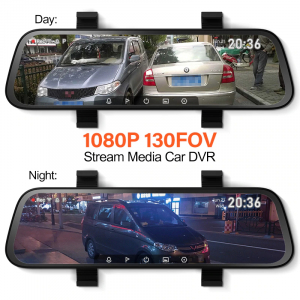 Oglinda retrovizoare cu camera 70mai Rearview Dash Cam Wide, display 9.35'', Full-HD 1080p, FOV 130°, varianta EU 20205