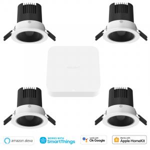 Pachet iluminat inteligent cu spoturi Yeelight M2 PRO 5 in 1, BLE Mesh, consola inclusa, compatibil Apple Homekit, Google Home, Alexa, SmartThings0
