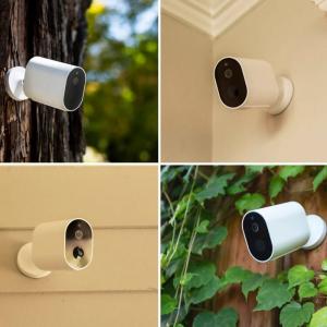 Pachet supraveghere video exterior Xiaomi Imilab EC2, 2 camere, gateway, versiune europeana, compatibil MI Home EU, 1080P, IP66, detectie miscare, infrarosu, AI3