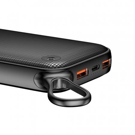 Powerbank Baseus Powerful 20000mAh Quick Charge 3.0, 2x USB, USB-C, Negru [1]