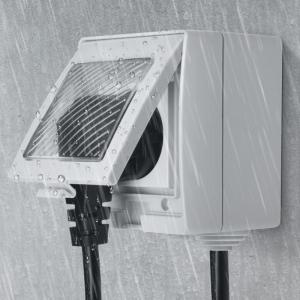 Priza inteligenta Sonoff S55, rezistenta la apa IP55, pentru exterior, control de la distanta prin wi-fi, 16A3