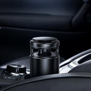 Pachet purificator aer auto Baseus anti-formaldehida, eliminare mirosuri, tester inclus, negru5