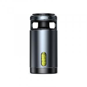 Pachet purificator aer auto Baseus anti-formaldehida, eliminare mirosuri, tester inclus, negru0