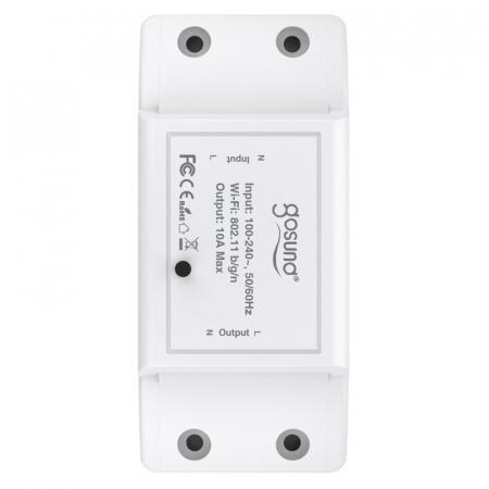 Releu smart WiFi 2.4Ghz Gosund SW3 10 A, compatibila ecosistem smart home Google Home, Alexa Amazon, Smart Life & Tuya [2]